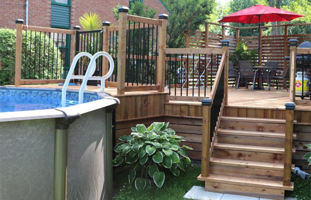 Monsieur patio construction cr ation de patios et for Construction piscine loi